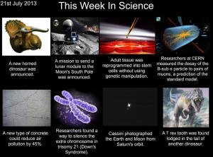 This week in Science, 21st July 2013